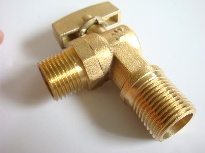 韩泰hantai 全铜球阀芯热水器专用角阀ht930001图片