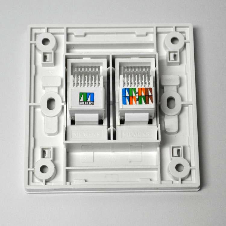 siemens西门子悦动系列电话电脑插座