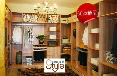 杨木芯实木生态板整体衣柜【图片 价格 规格 评价】