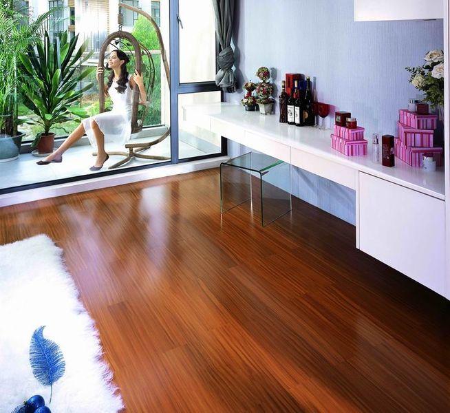 圣象地板 实木复合地板 金丝柚木王 ah9116