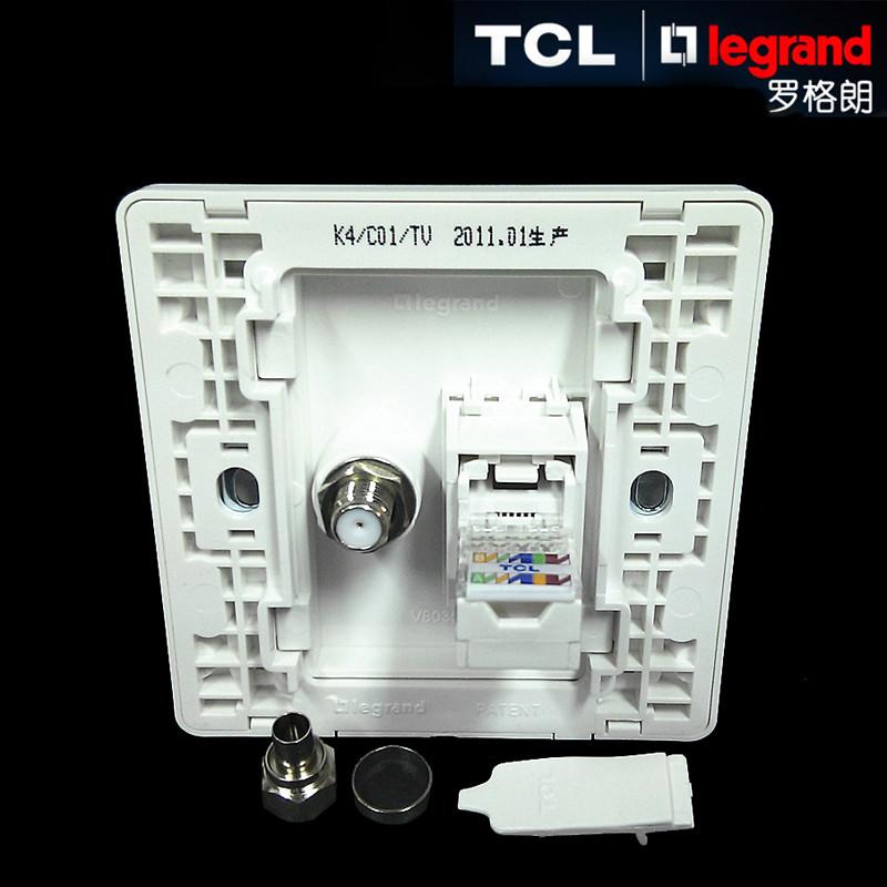 tcl|legrand罗格朗开关美点系列电视电脑插座